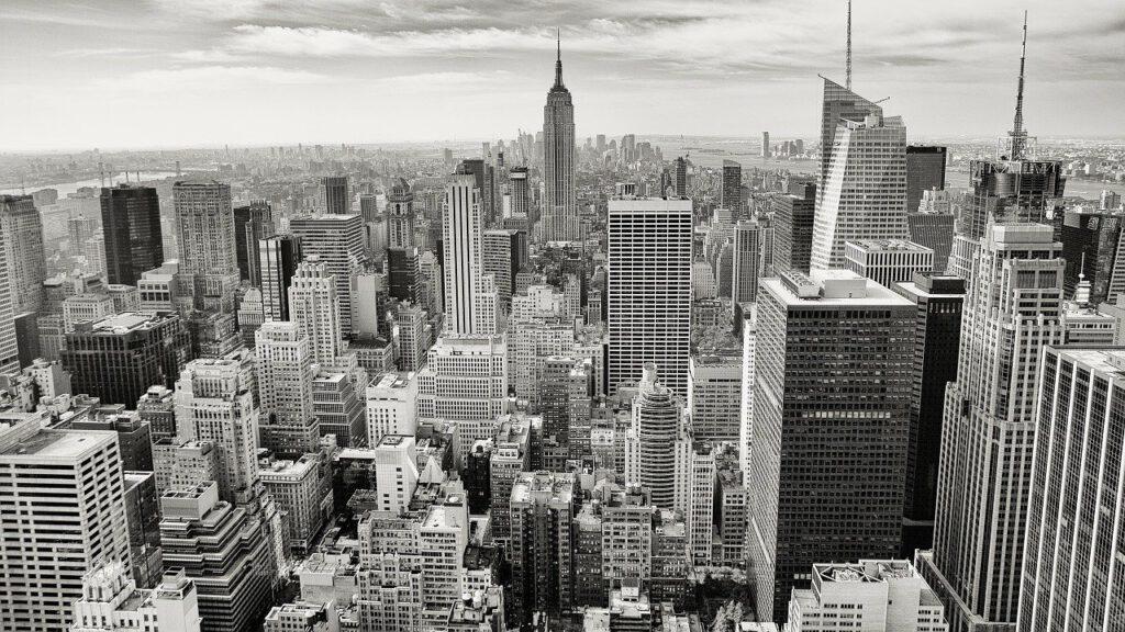 manhattan, empire state building, new york city