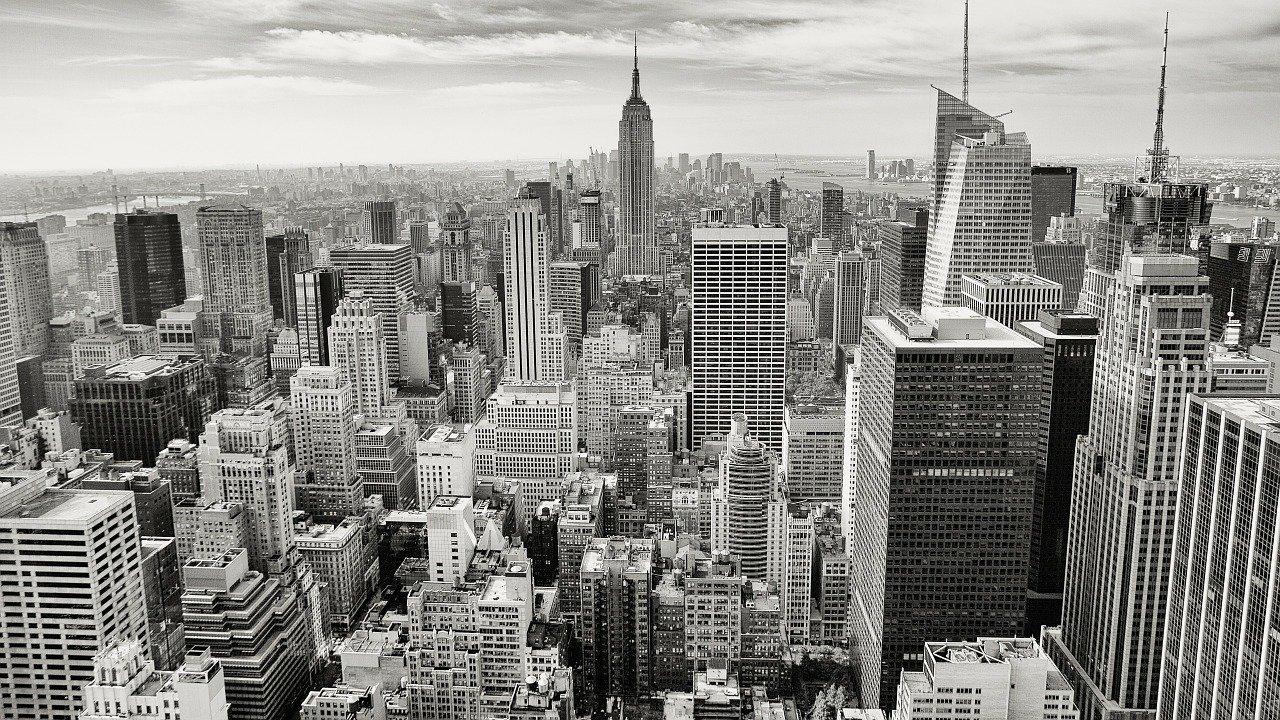 manhattan, empire state building, new york city-336708