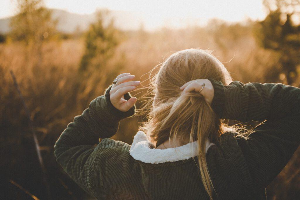 nature, girl, woman