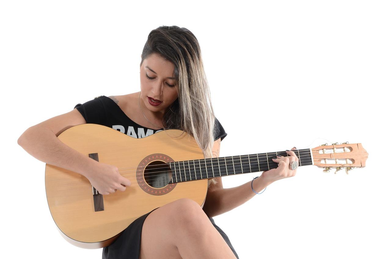 woman, sing, music