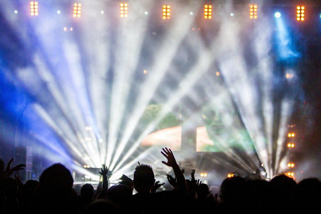 concert, performance, audience