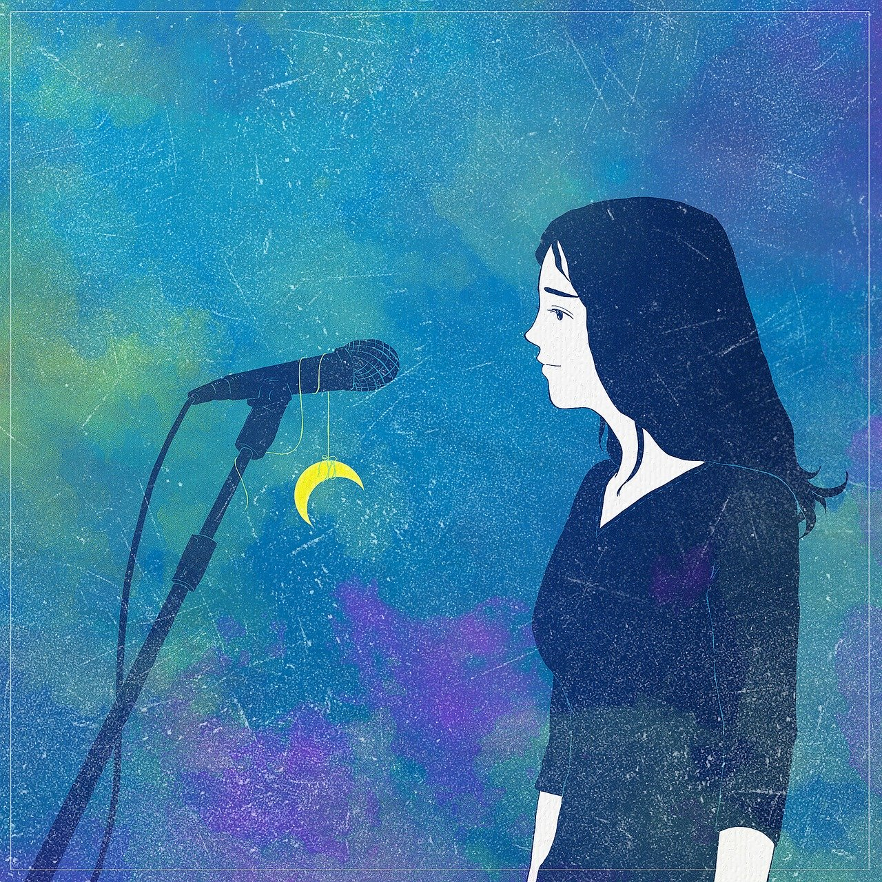 fantasy, microphone, singer-4066241